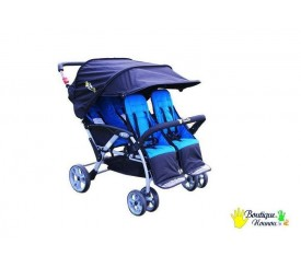 Stroller 4 places