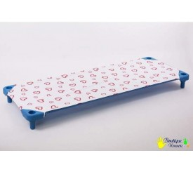 Fitted sheet for kindy bed 138cm