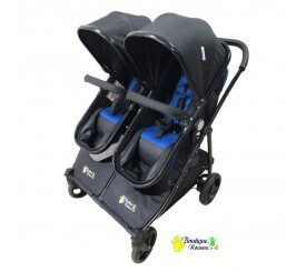 Double multi-function stroller