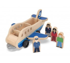 Ensemble avion en bois |  14387  | Boutique Nounou