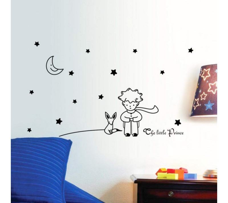 Stickers mural petit prince