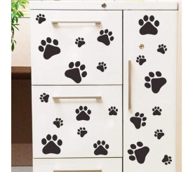 Stickers Pâte animaux chat chien